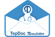 TopDoc's newsletter sign up